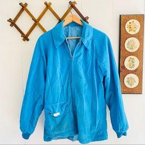 Vintage 70s 80s Reversible Zip Jacket